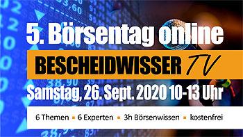 Banner 5. Boersentag Online