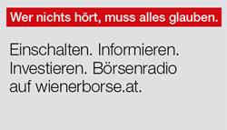 Börsenradio auf wienerborse.at